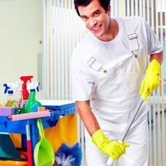Sprach- und Berufstraining im Reinigungsgewerbe